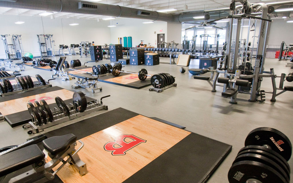 Rice Center - Weight Room