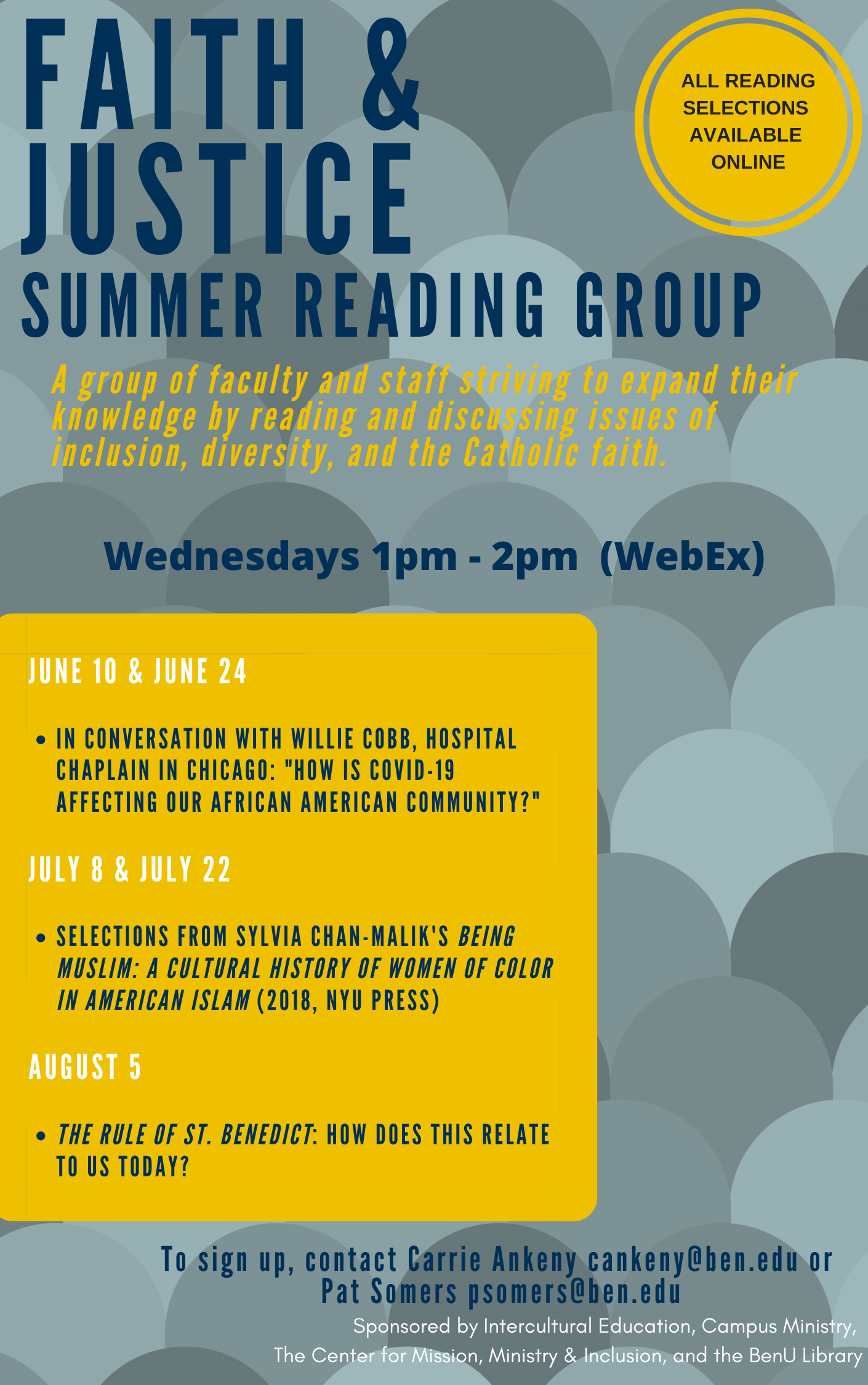 Faith Justice Reading Group