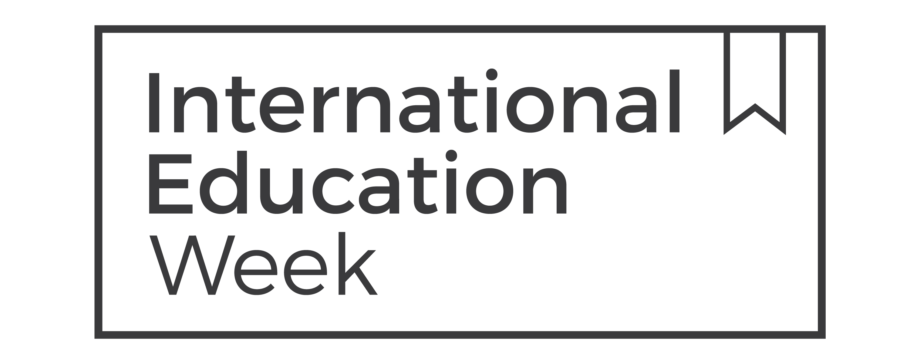 International Ed Week Logo