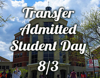 Transfer Admitted Student Day 8/3