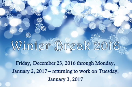 Winter Break 2016