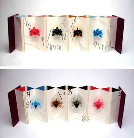 Book Art: Seasons