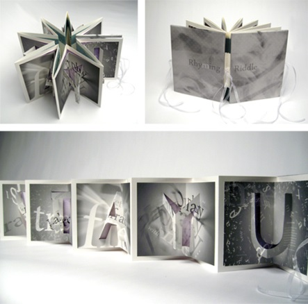 Book Art: Rhyming Riddle