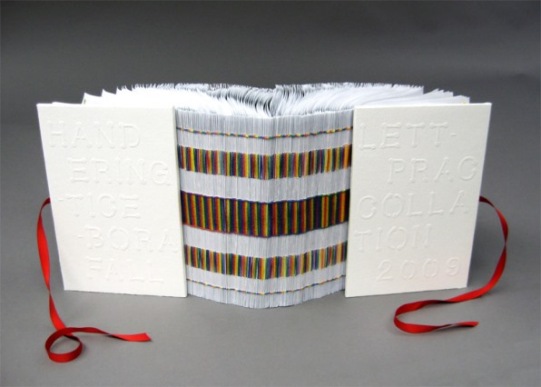 Book Art: Rainbow