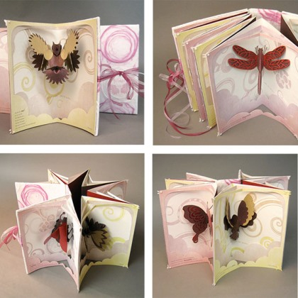 Book Art: Wings 1