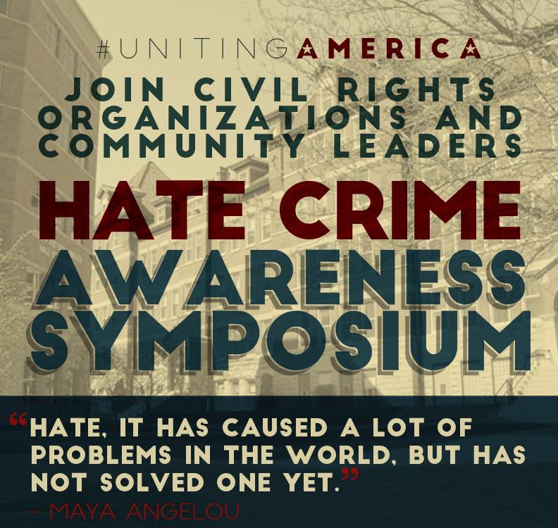 Hate Crime Awareness Symposium