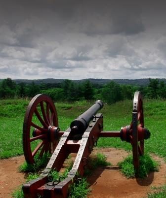 Cannon at Valley Forge