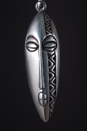 Zulu tribal mask
