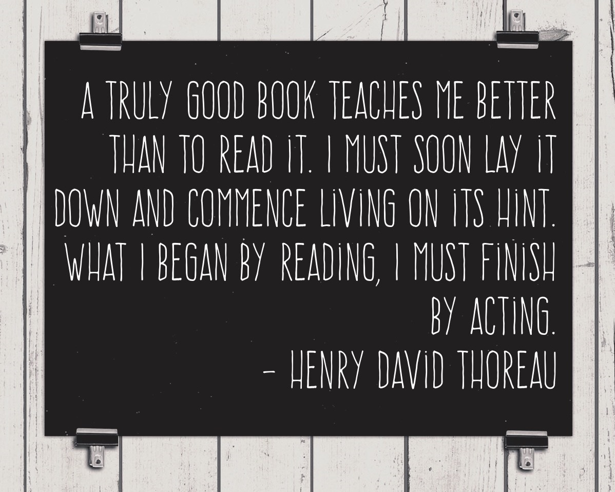 Henry David Thoreau quotation