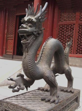 Bronze dragon, Beijing