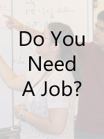 Do yo need a job?