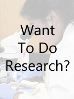 Want to do Research?