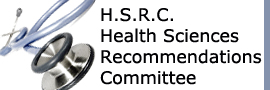HSRC- Health Sciences Recommendations Committee