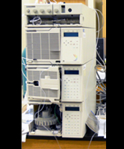 Alltech 350 HPLC with Jasco UV/VIS Detector