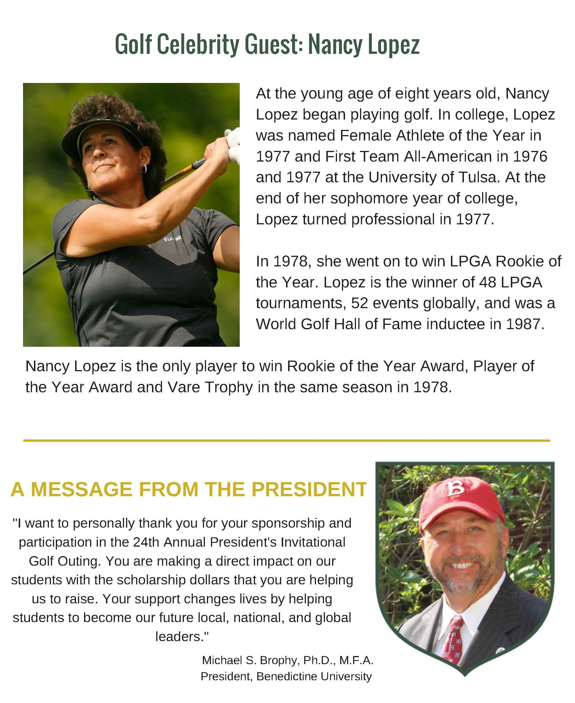 Nancy Lopez Webpage