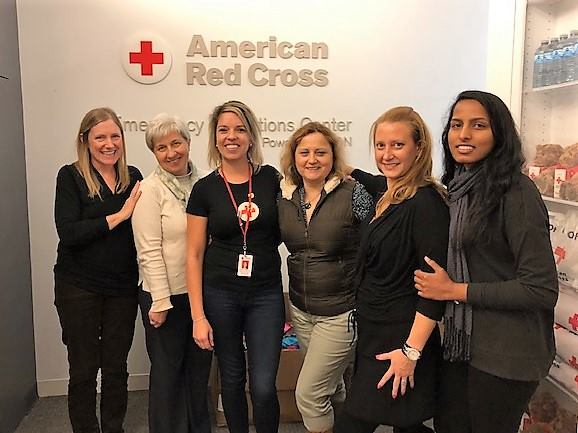 RN 53 students completed their Leadership clinical at the American Red Cross Greater Chicago Headquarters