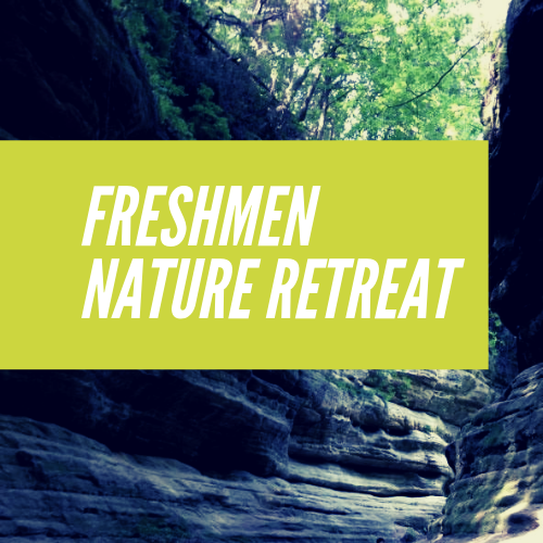 Freshmen Nature Retreat logo