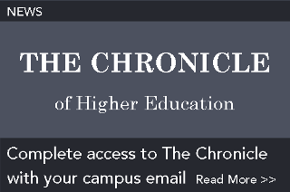 News: Complete access to The Chronicle with your campus email