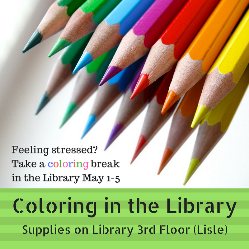 Coloring the library