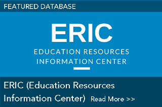 Featured Database: ERIC (Education Resources Information Center)