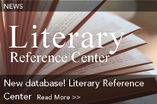 New database! Literary Reference Center