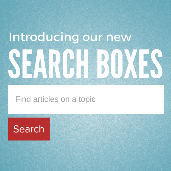 Introducing our new search boxes