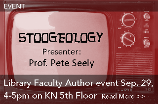 Event: Library Faculty Author event Sep. 29, 4-5pm KN 5th Floor