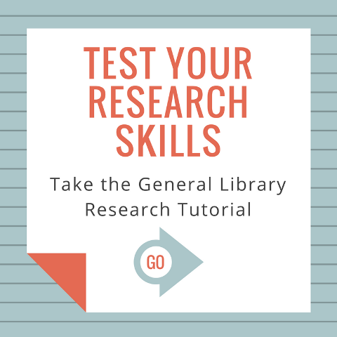 General Library Research Tutorial
