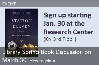 Event: Library Spring Book Discussion