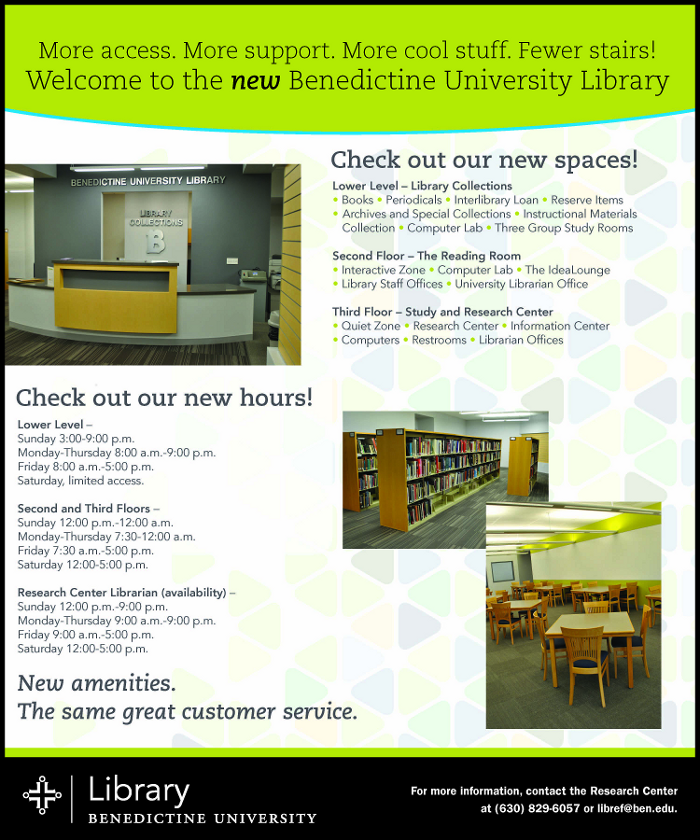 Check out the new library spaces
