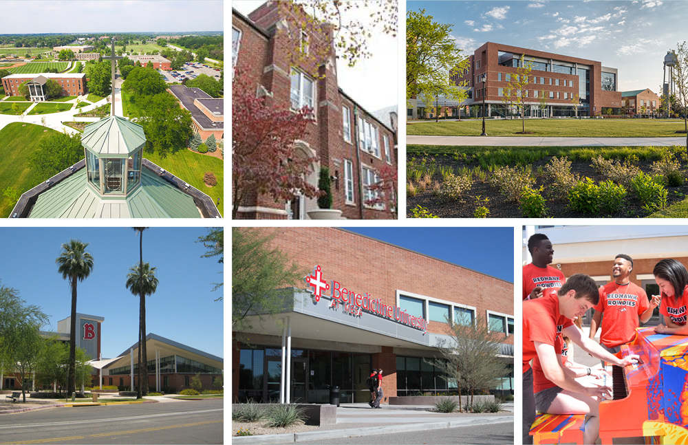 Examples of appropriate campus photo style