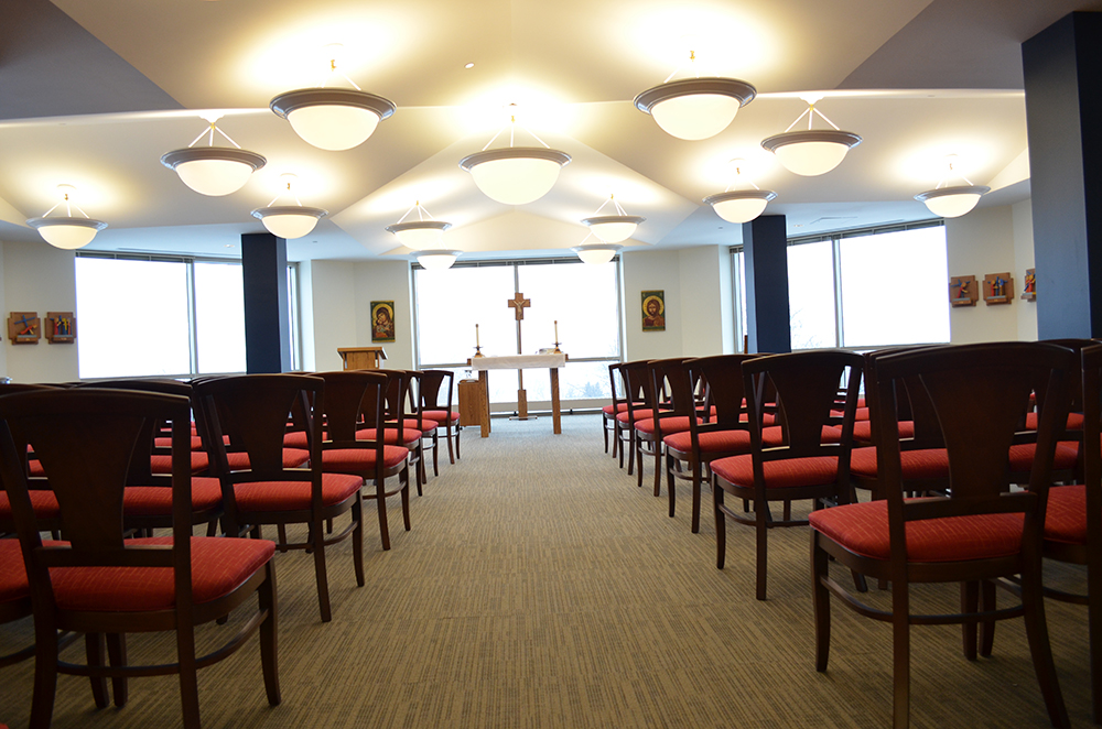Chapel new chairs