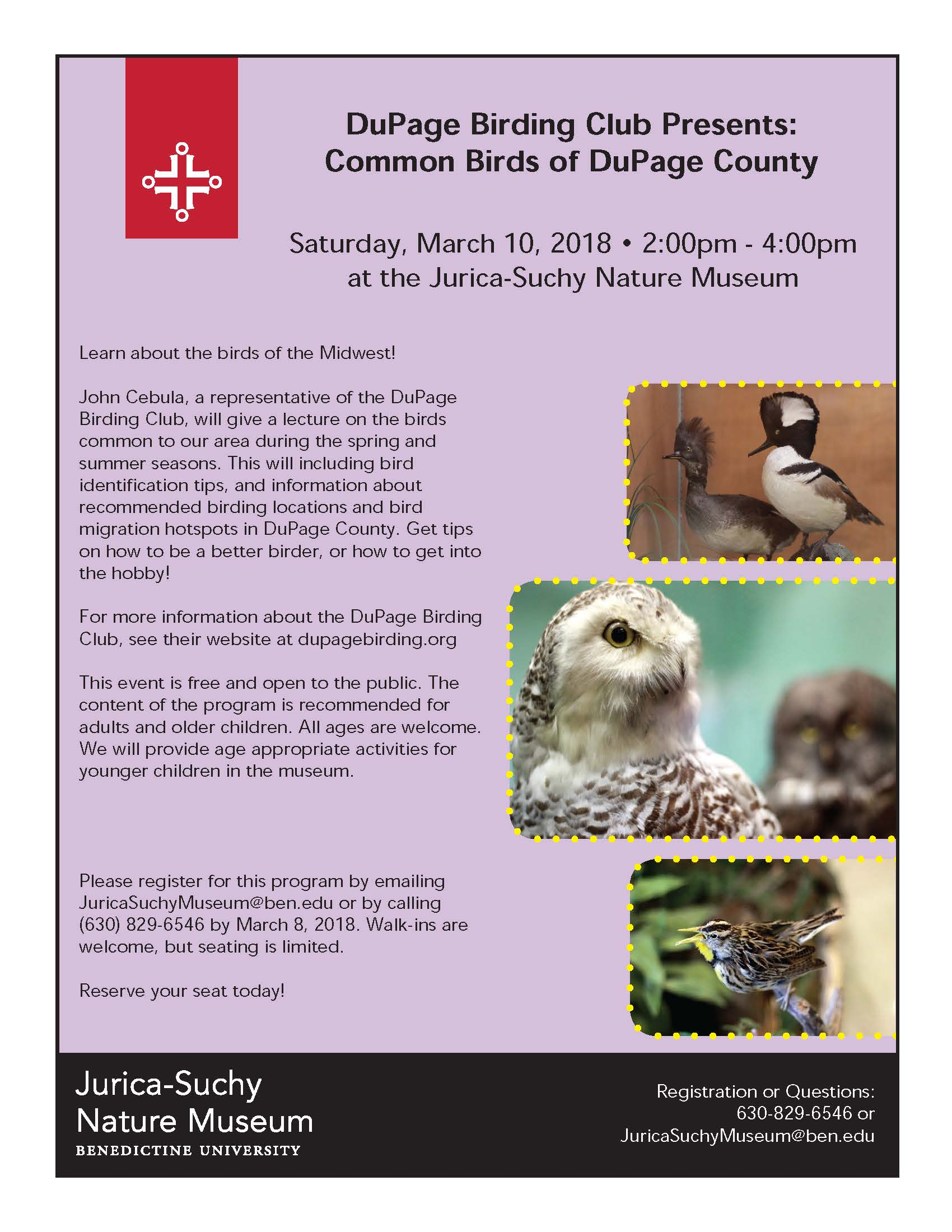 DuPage Birding Club lecture