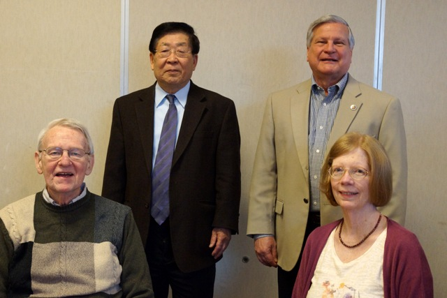 Soyon Lee, Ralph Meeker, Edward Winkler and Eileen Clark