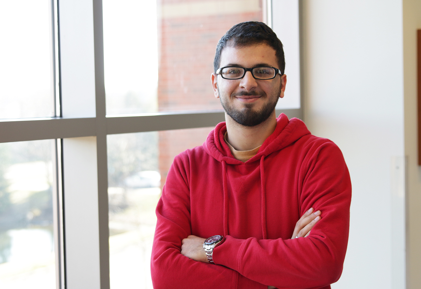 A St. Benedict Scholarship and Phi Theta Kappa Award made it possible for Burr Ridge resident and COD transfer student Sami Tashwali to attend Benedictine University.