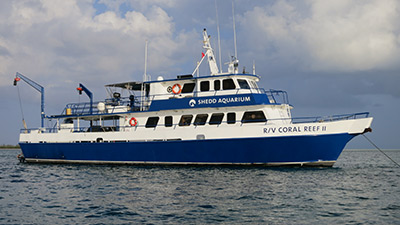 The R/V Coral Reef II