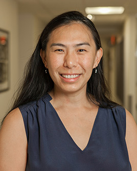 Susan Cheng, Ph.D., assistant professor and chair of Benedictine's department of Public Health