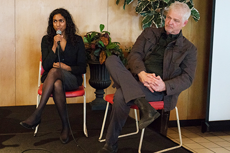 Tisha Rajendra, Ph.D., an assistant professor at Loyola University Chicago, and Mark Lewis Taylor, Ph.D., the Maxwell M. Upson Professor of Theology and Culture at Princeton Theological Seminary
