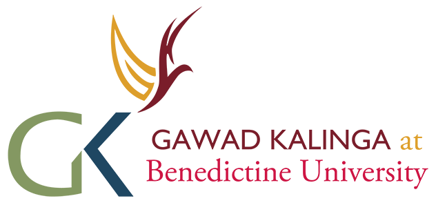 Gawad Kalinga at Benedictine University logo