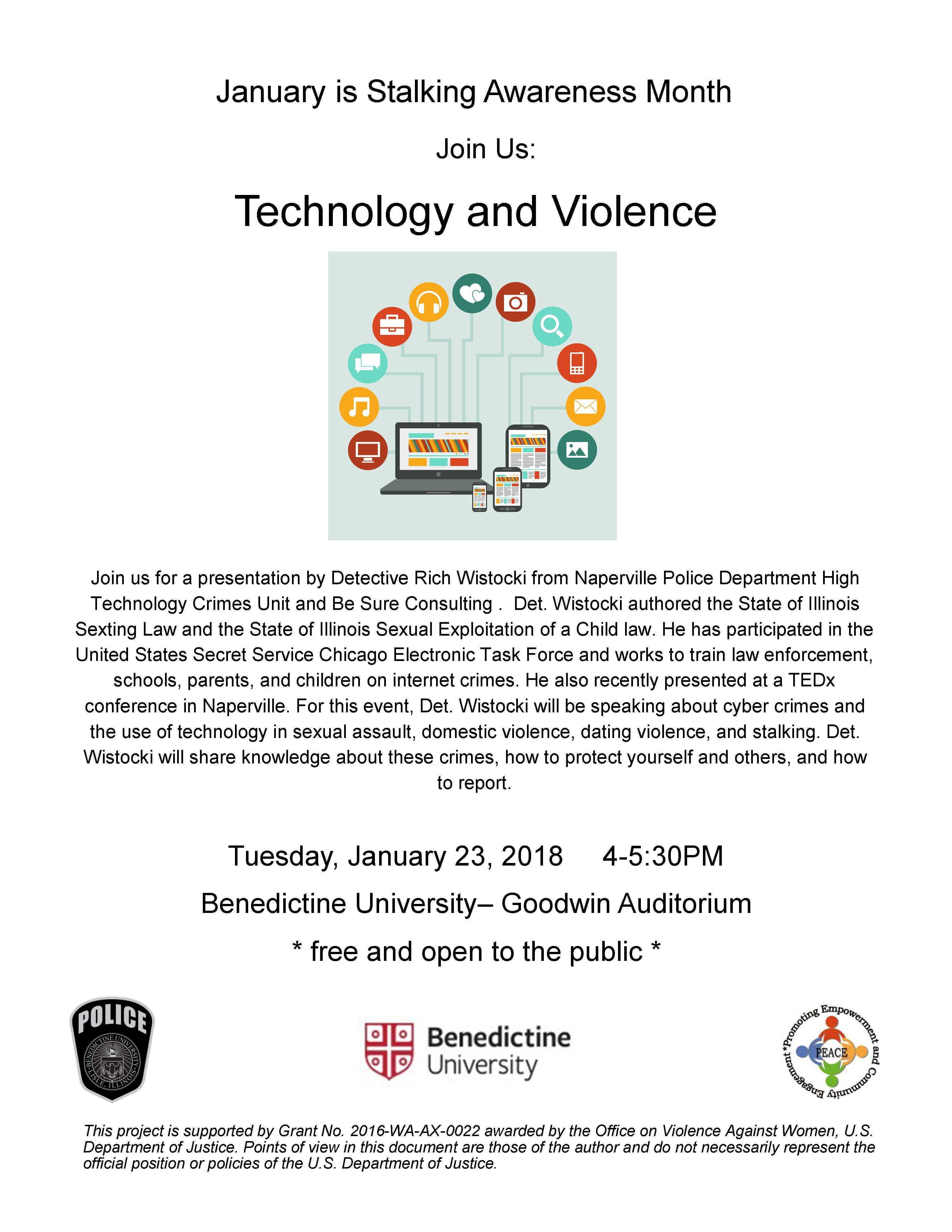 Technology and Violence speakers