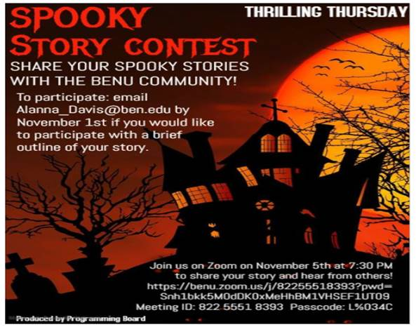 11-1 spooky stories