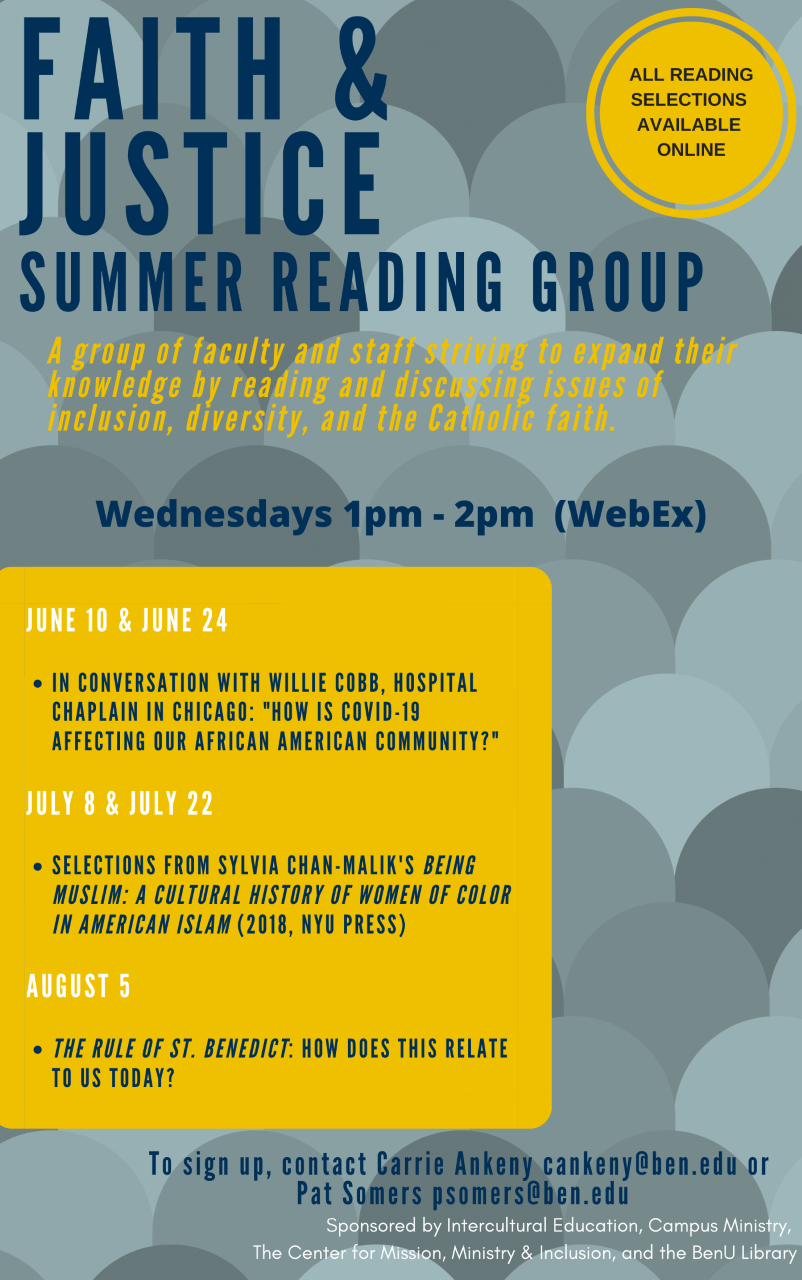 Faith and Justice Reading Group